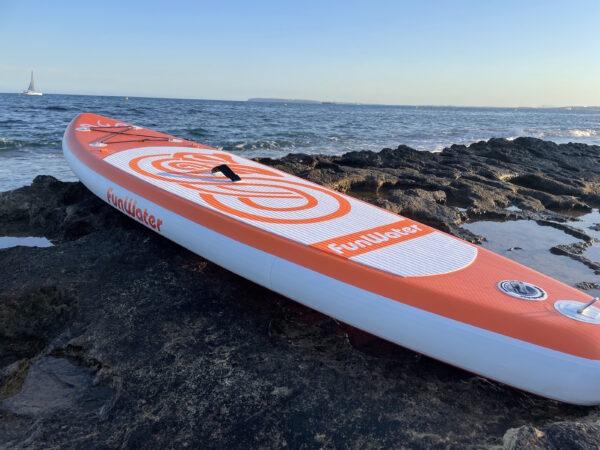 Funwater_tabla_paddle_surf_orange_hinchables_baratas_con_todos_los_complementos