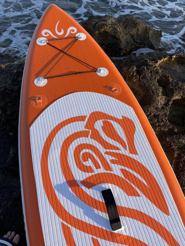 Funwater_tabla_sup_orange_surf_inflables_con_todos_los_complementos