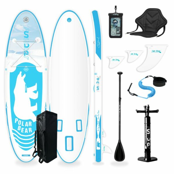 funwater_polar_bear_blue_azul_tabla_paddle_surf_sup_economicas_dotshio_todos_los_complementos_todos_los_niveles_principiantes_set_valvula_que_incluye
